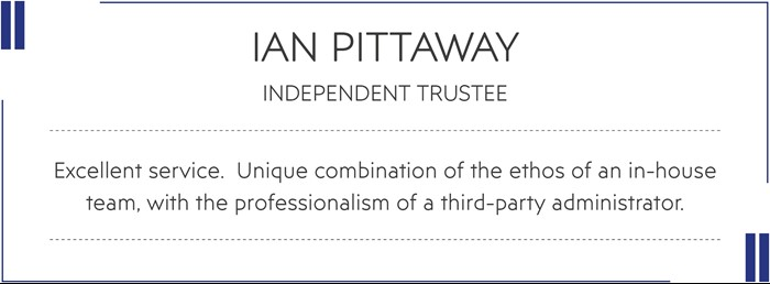 Quote from Ian Pittaway